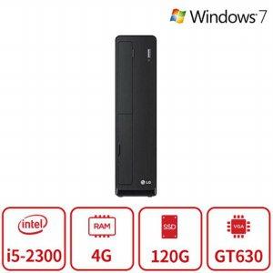 블랙슬림 게이밍 데스크탑 Z50P 선착순 한정특가 [i5-2300 / 4GB / SSD120GB / GT630]