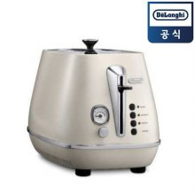 디스틴타 토스터 CTI2003.W [화이트 / 2구 / 6단계 굽기조절 / 베이글 가능]
