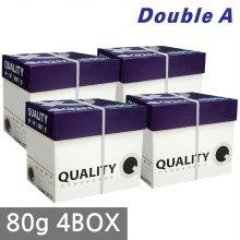 퀄리티 A4 복사용지(A4용지) 80g 2500매 4BOX(10000매)