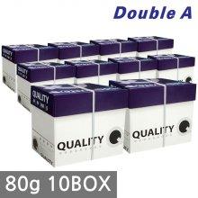 퀄리티 A4 복사용지(A4용지) 80g 2500매 10BOX(25000매)