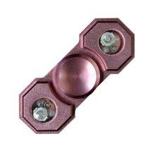 메탈 LED 핸디 피젯스피너 핑크 메탈