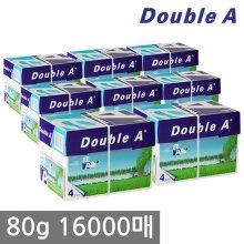 더블에이 A4 복사용지(A4용지) 80g 2000매 8BOX(16000매)