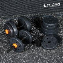 블랙덤벨세트 11kg 변신합체 아령세트 덤벨_기본형 11kg
