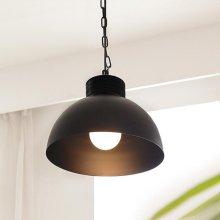 [LED] 체인 1등 펜던트-블랙 주광색(하얀빛)