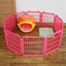 중형 울타리 10PCS 핑크