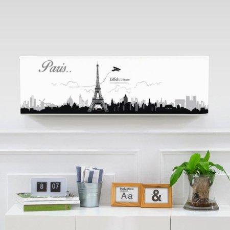 벽걸이에어컨커버 에펠탑 트라이앵글(89x26x27.5)