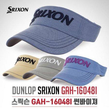 [2017년신제품]던롭 스릭슨正品 GAH-16048I 컨트라스트 파이핑 썬캡 썬바이저 모자-4종칼라