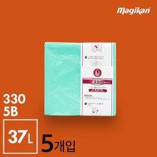 휴지통 생분해 리필 37L [5개입]