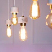 [LED] 에즈 5등 펜던트-에디슨 일자형:LED 에디슨 A타입