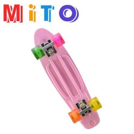 스케이트보드 (71cm) 핑크