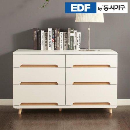 EDFby동서가구 유로밍 모던 와이드 3단서랍장 DFF2971A _화이트