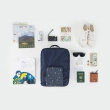 안테나샵 FOLDING TRUNK BAG [폴딩백/세컨백/토트백/숄더백/백팩/여행가방/트렁크백]