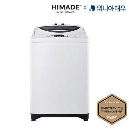 일반세탁기 HDP-11ECW 대우전자X하이메이드 [11KG / 강력스타드럼 / 초강력입체물살 / 저소음저진동 / 공간절약형]