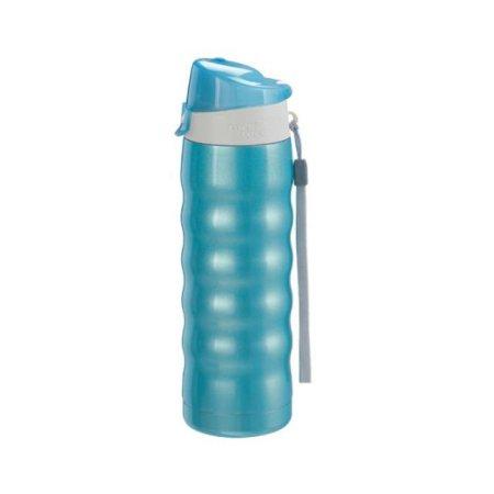 웨이브 보냉물병 500ml 블루