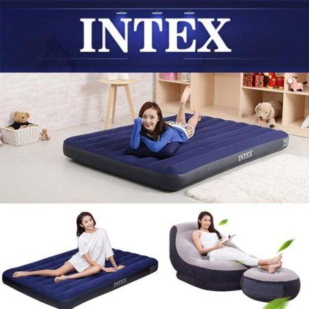 INTEX 에어매트 싱글