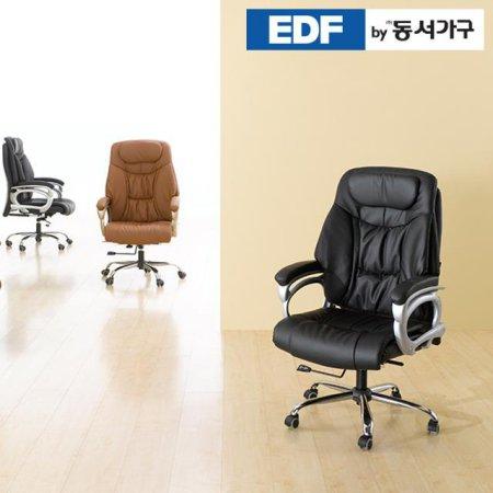 ZE 사무용의자 DF630335 _브라운
