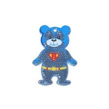 루미세이프 안전반사경_Hero Bear_슈퍼 베어 블루