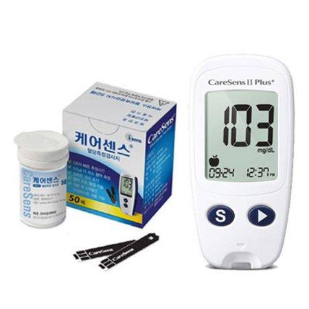 케어센스2 혈당측정기+시험지60매