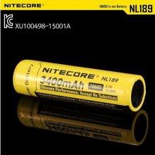 나이트코어 18650 배터리 충전지 NL189 3400mAh