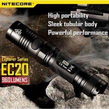 나이트코어 LED 후레쉬 EC20 950루멘 충전용 랜턴