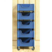 적층식 수납박스(5단)-블루-로라형
