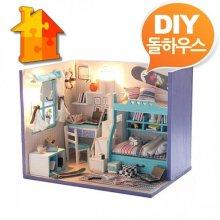 DIY 돌하우스 소년방 내방꾸미기 미니어쳐 만들기
