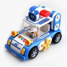 뚝딱맨 자석블럭완구 경찰차
