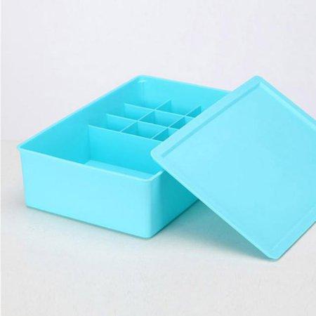 속옷정리함 9+1칸(블루)