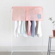 UIT 유니크 하프 행거커버 [부직포커버/행거상단덮개/옷정리] Indi Pink