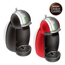 캡슐형 커피머신 GENIO2-BLACK 지니오2 (블랙) [ 1L 분리형 워터탱크 / 30가지 다양한 캡슐 메뉴 / 8단계 물조절 가능 / 4단계 드립트레이 ]
