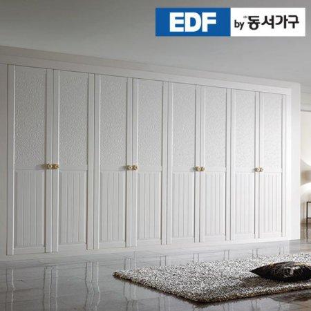 EDFby동서가구 시스템비니 여닫이 붙박이장 30cm DF636571 _화이트 웜베이지