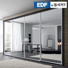 EDFby동서가구 시스템빅토리 미러 슬라이딩 붙박이장 10cm DF636576 _은경 웜베이지