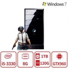 배틀그라운드 3세대 코어i5 게이밍 데스크탑 T2A시리즈 듀얼스토리지 [8G/SSD120G+HDD1TB/GTX960]