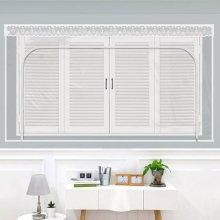 다샵 창문형지퍼식 방풍 바람막이 투명 300x165cm