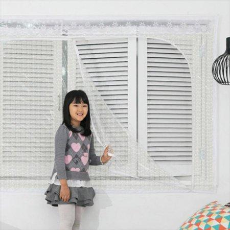 다샵 창문형지퍼식 방풍 바람막이 에어캡 200x165cm