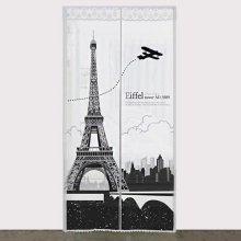 다샵 EVA일체형 방풍 바람막이 에펠탑 반투명 90x210cm