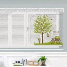 다샵 EVA창문형지퍼식 방풍 바람막이 초록향기 200x120cm
