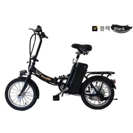 Amiello 접이식전동, 전기자전거 17년형_블랙
