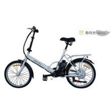 e-Run Bike 이런바이크 20 접이식 전동, 전기자전거 17년형_화이트