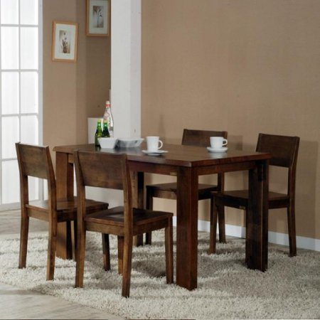 [앤디Ⅰ] 4인 식탁테이블(브라운)