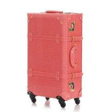 헤라 24 애프리코트 화물용 클래식빈티지캐리어 여행가방