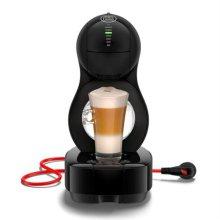 루미오 캡술형 커피머신 LUMIO-BLACK [300ml 추출 / 작은 사이즈 / 자동전원버튼]