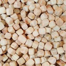 천연 100% 편백나무 큐브칩500g