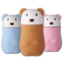 캐릭터 미니 USB 소형 무드등 가습기 (브라운 곰)
