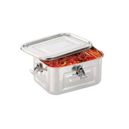 스텐 사각김치통 소