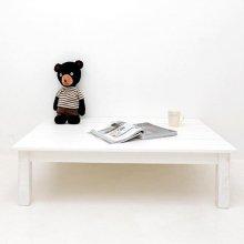 뉴송고무나무 유아용테이블(대)(white)