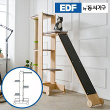EDFby동서가구 펫츠펀 원목 캣타워 기본형 A형 DF636823 _내추럴