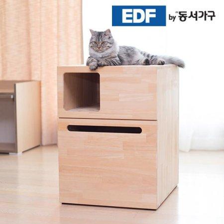 EDFby동서가구 펫츠펀 복층형 소나무원목 냥이화장실 DF636817