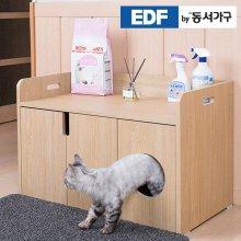 EDFby동서가구 펫츠펀 일반 와이드형 화장실 DF636816 _내추럴