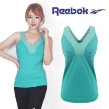 [QR코드인증]리복 여성 SE LONG BRA/브라탑/플레이드라이/롱 민소매 티셔츠 - Z17774 XS